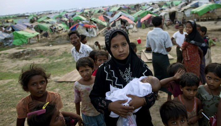 Rohingya Muslims in Bangladesh